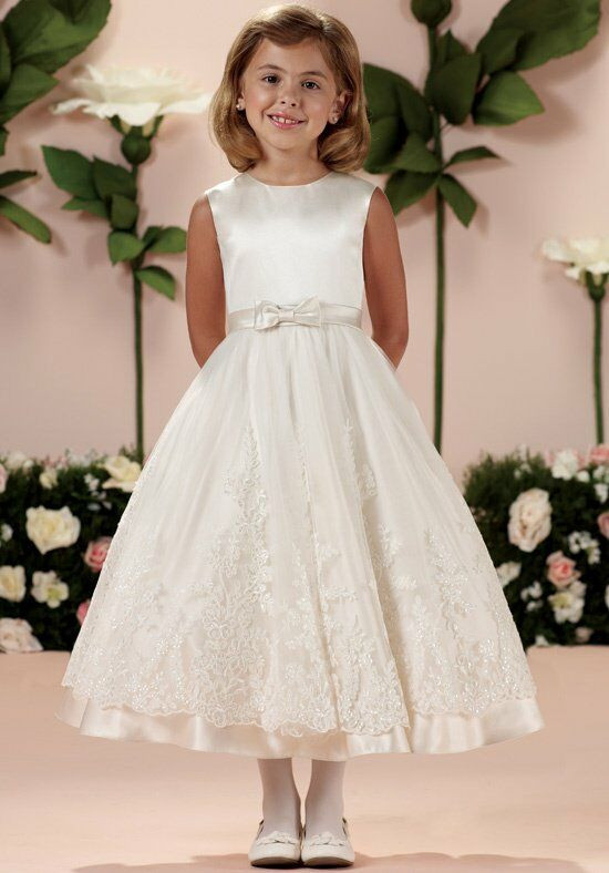 Joan Calabrese by Mon Cheri 114341 Flower Girl Dress photo