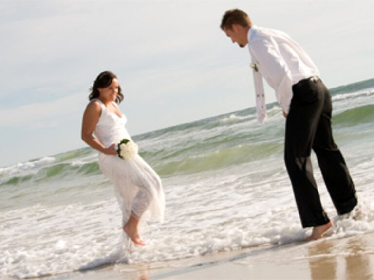 Beach Wedding in Panama City