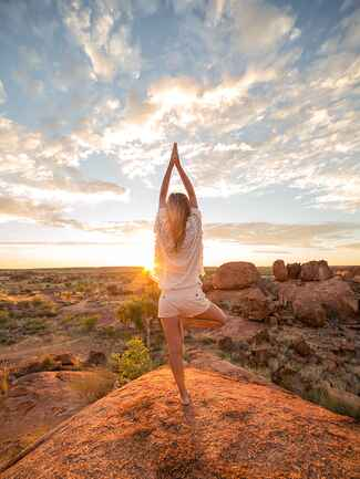A yoga retreat idea for a fun bachelorette