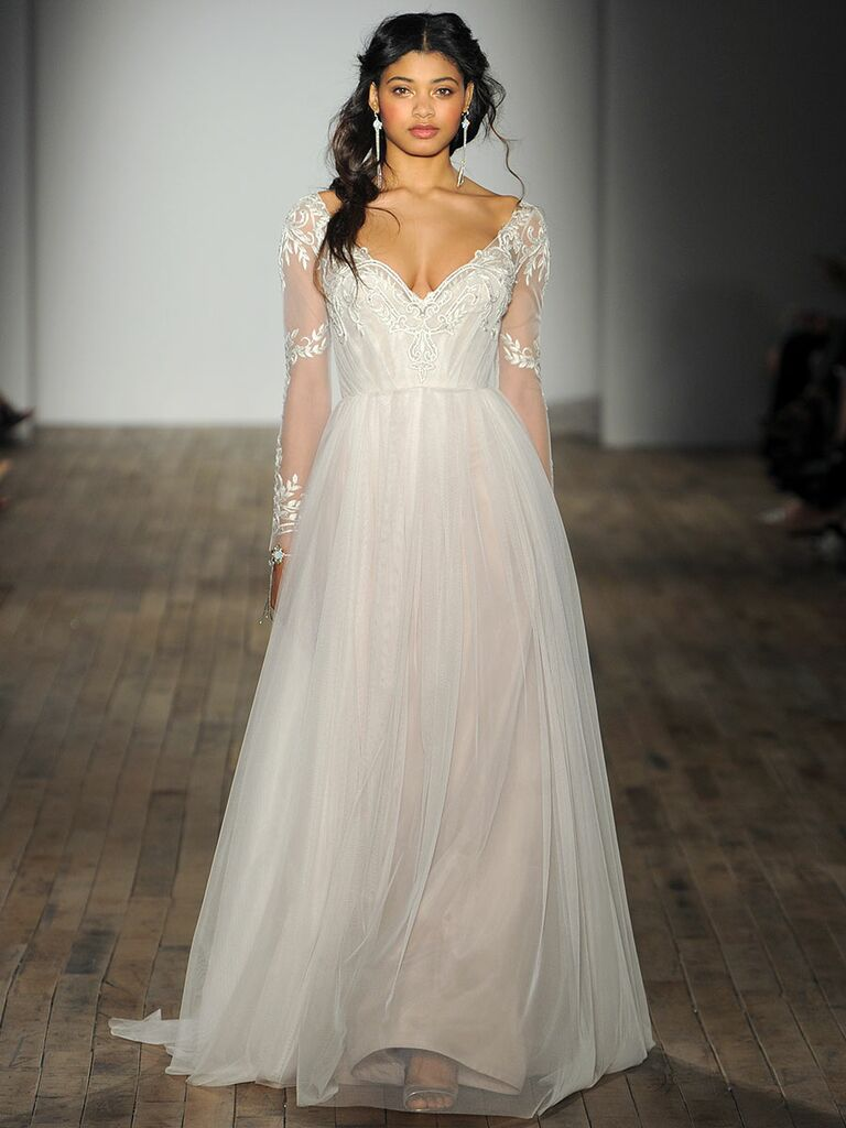 Jim Hjelm Fall Bridal Fashion Week Photos