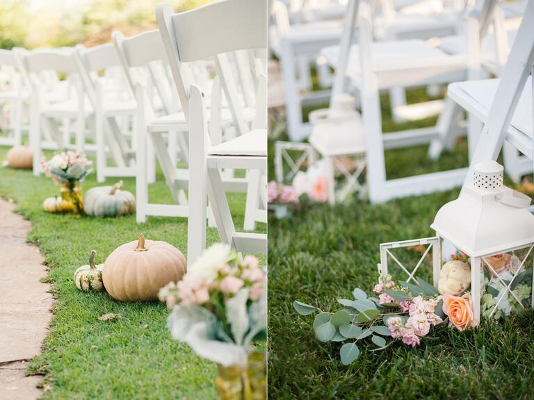 7 Glamorous Ways to Decorate Your Fall Wedding With Pumpkins - photo#36