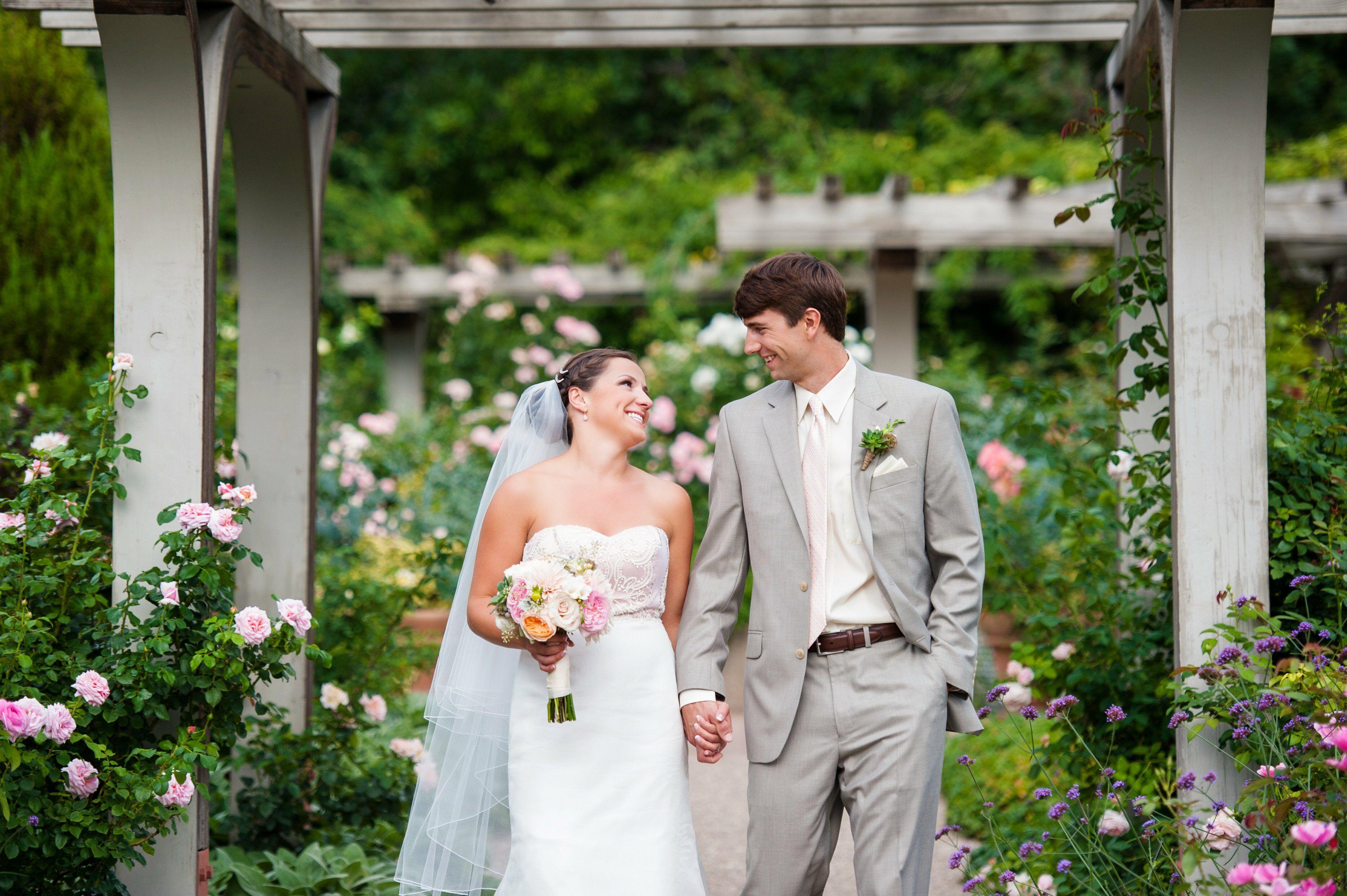 A Traditional Wedding at The Denver Botanic Gardens in Denver