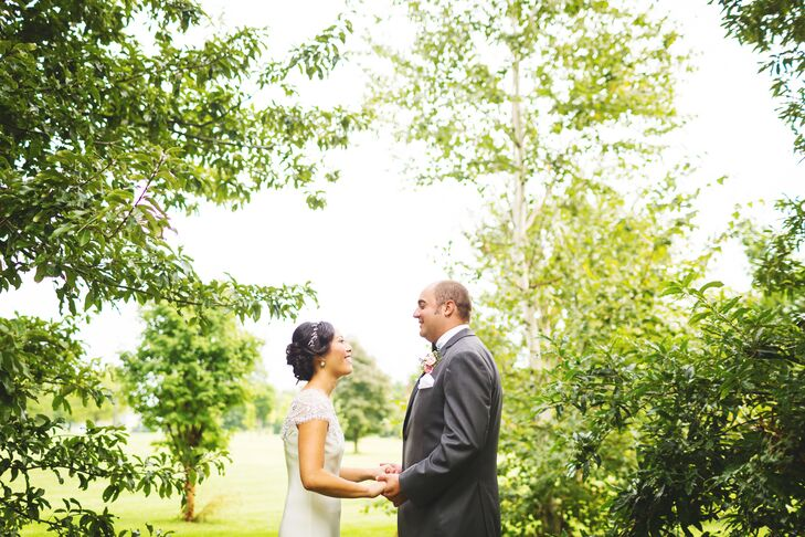 A Rustic Late Summer Wedding in Champaign, Illinois