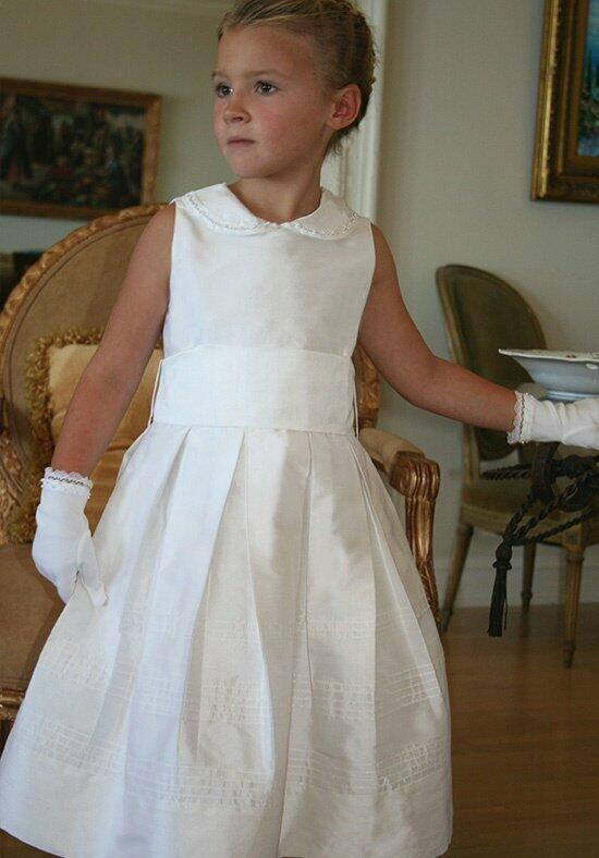 Isabel Garretón Subtle Flower Girl Dress photo