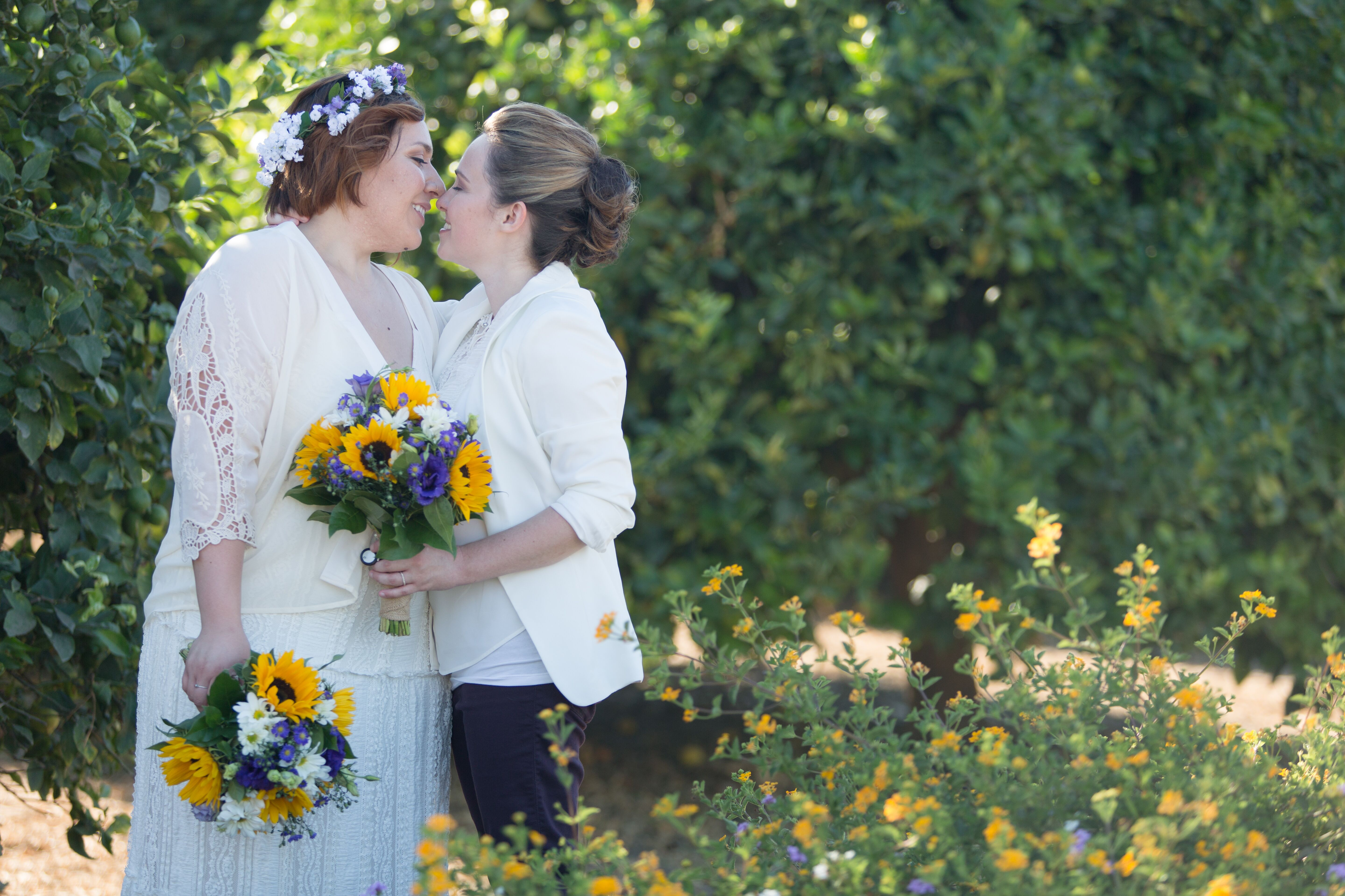 A Simple Rustic Wedding At Limoneira Ranch In Santa Paula