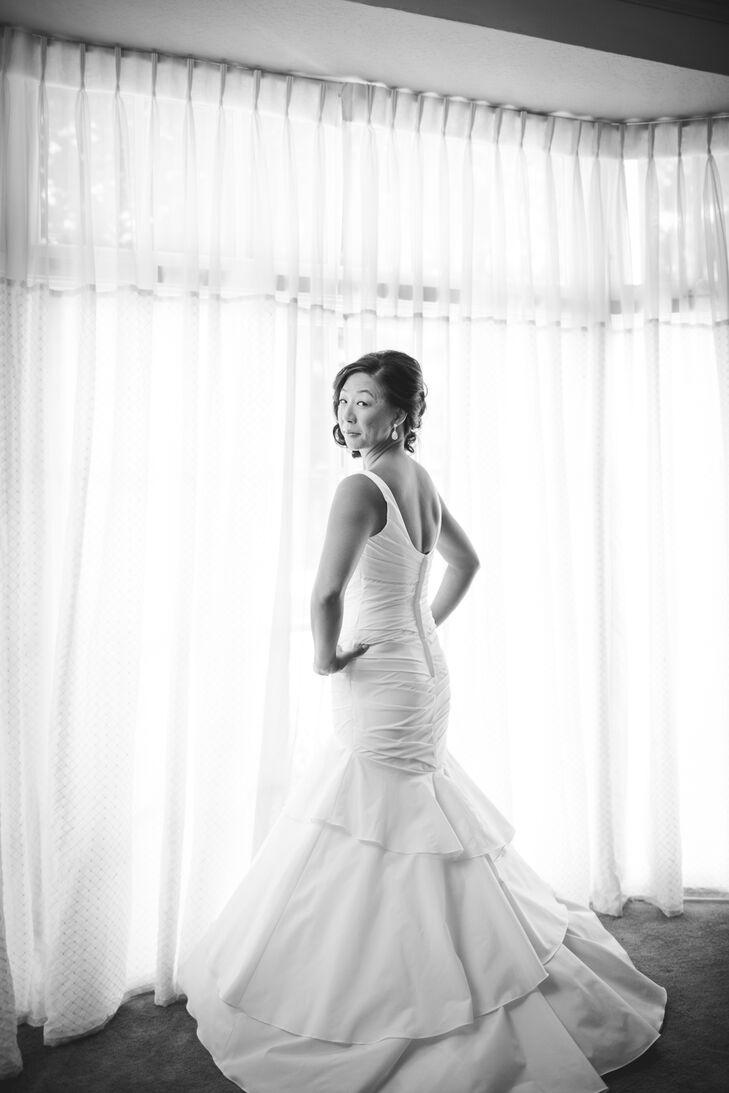 davids bridal mermaid wedding dress