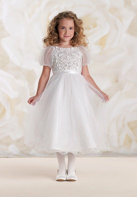 Joan Calabrese by Mon Cheri 115311 Flower Girl Dress photo