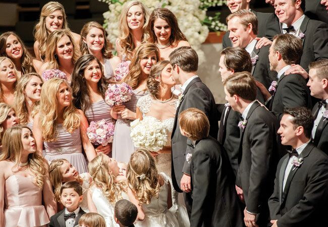 Check Out The Over The Top Photos From This Huge Austin Wedding