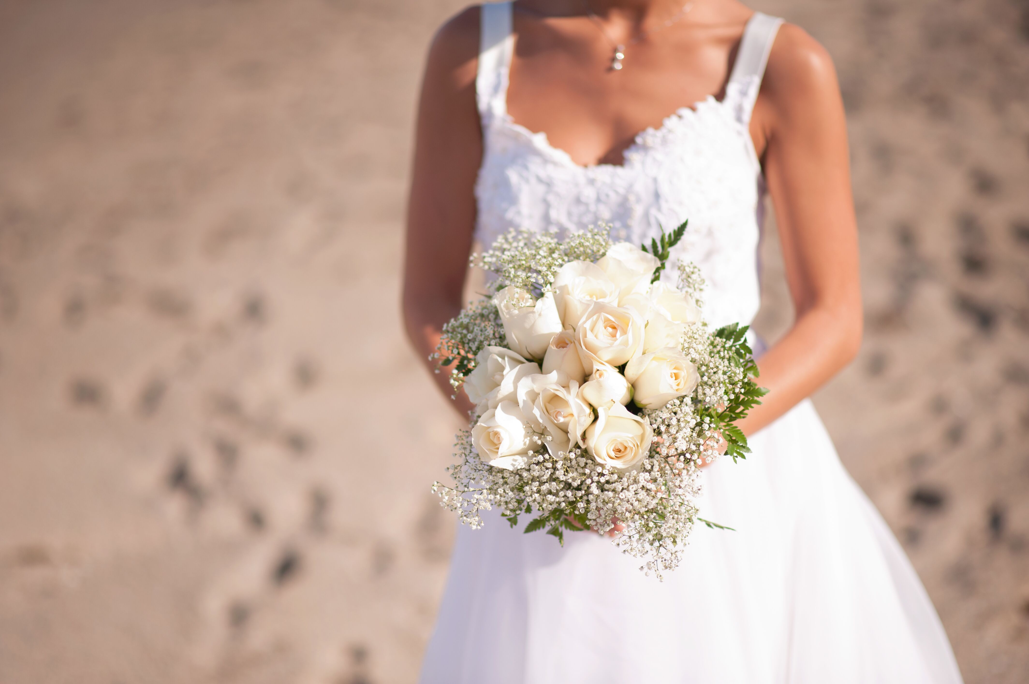 baby breath wedding bouquet white and baby s breath bridal bouquet 1417