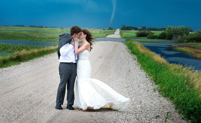 Tornado couple photo