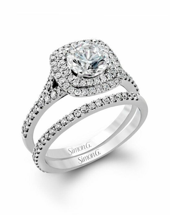 Simon G. Jewelry MR2459 Engagement Ring photo