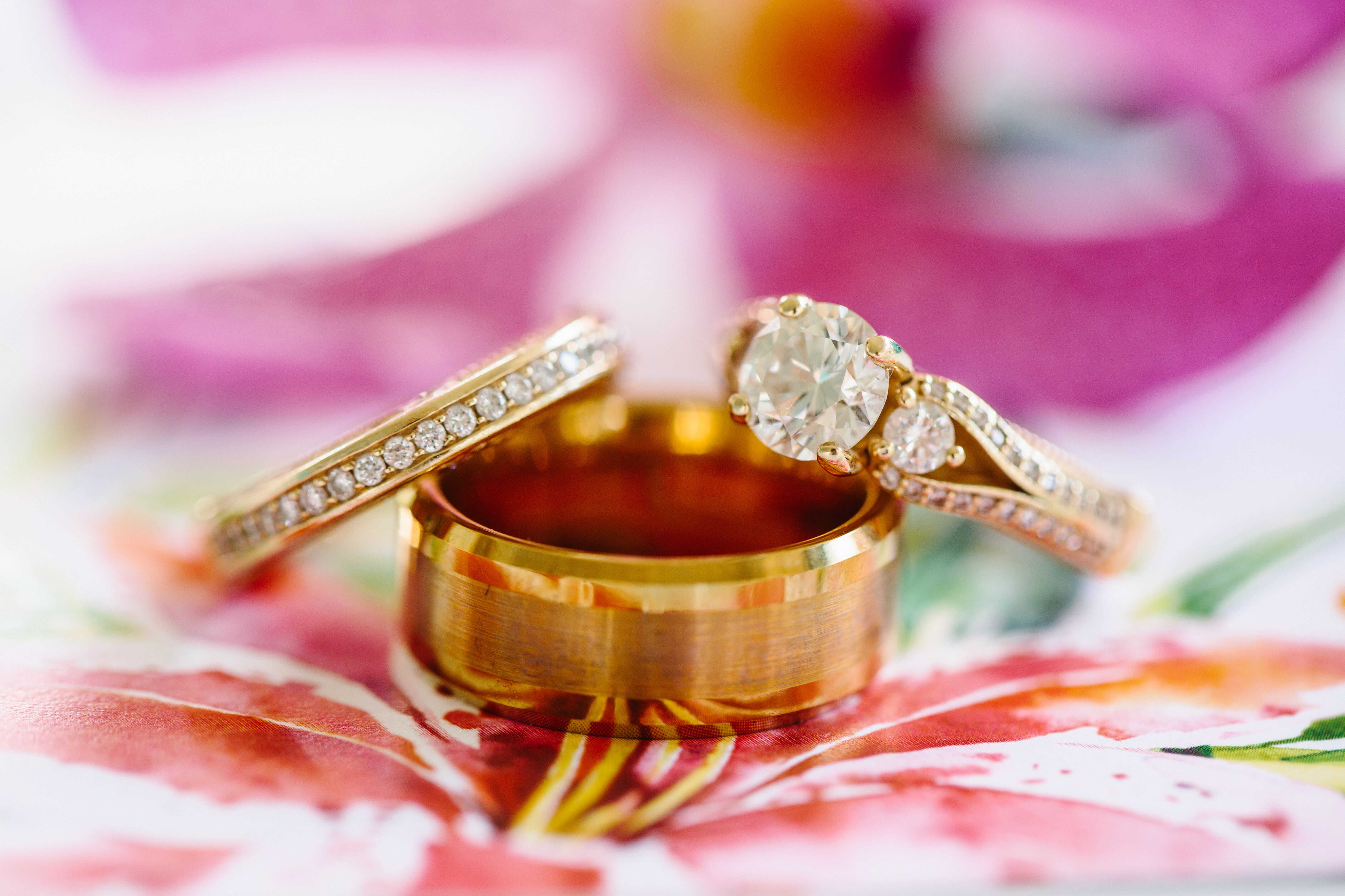 Custom Rose Gold Wedding Bands