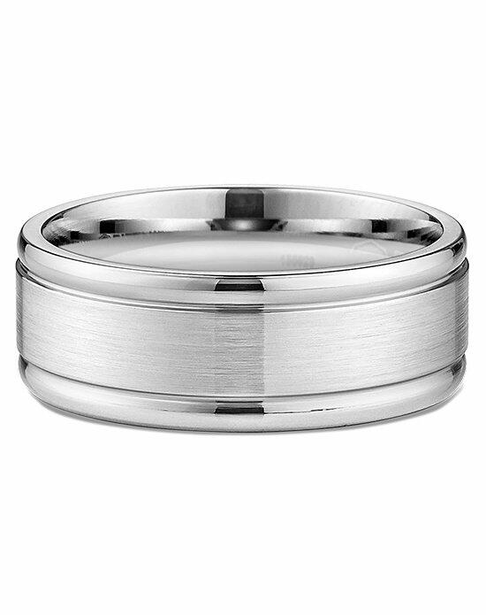 Ritani Men's Wide Brushed & Beveled Wedding Ring in Palladium Wedding Ring photo