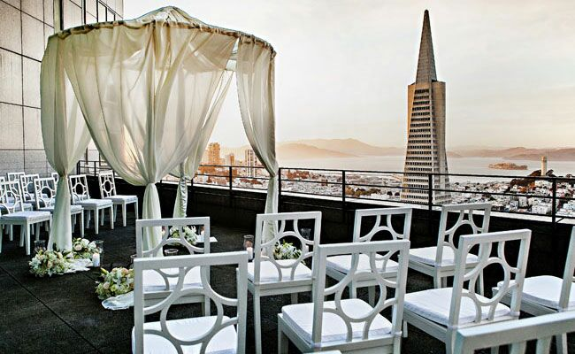 Beautiful Outdoor Wedding Ceremony At Tribeca Rooftop: 7 Tips For Planning A Rooftop Wedding