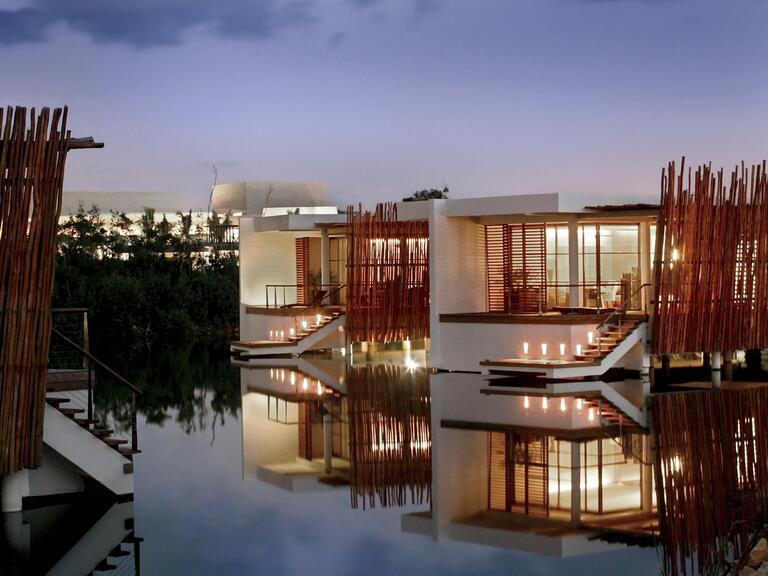 lua de mel de luxo Riviera Maya México