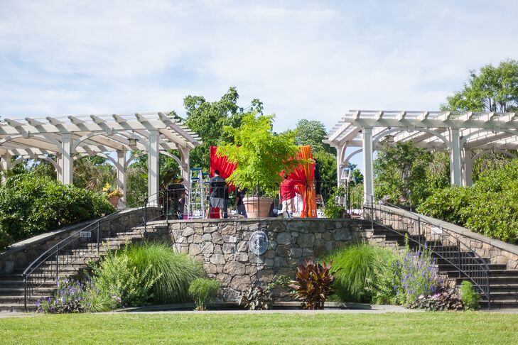 Tower Hill Botanical Gardens Ceremony
