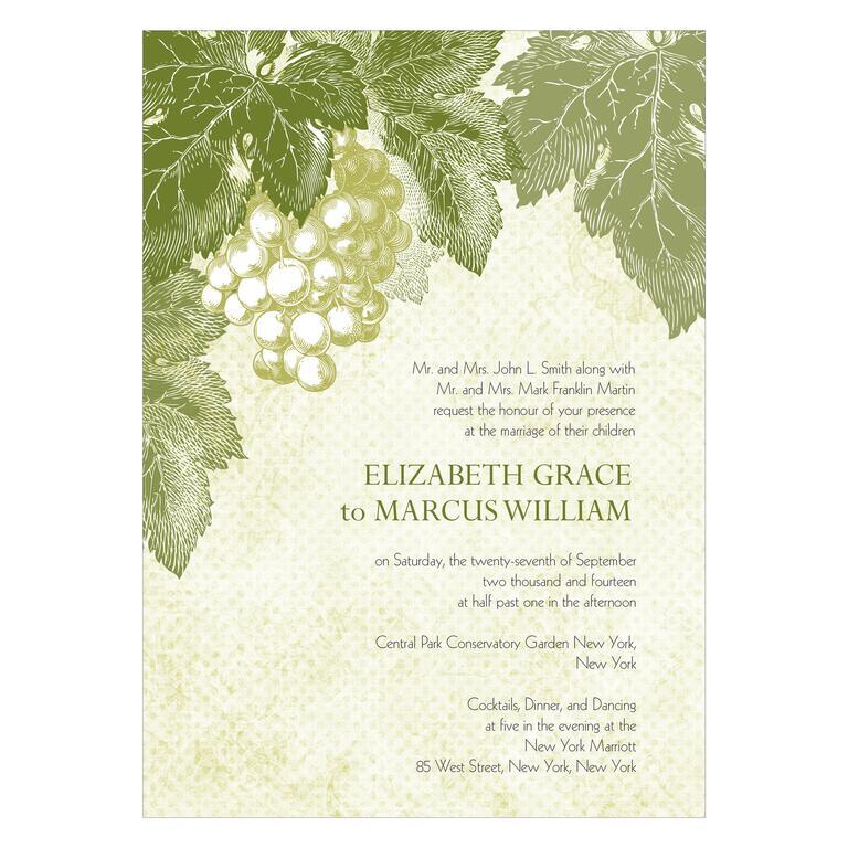 Décor Ideas For Your Vineyard Wedding