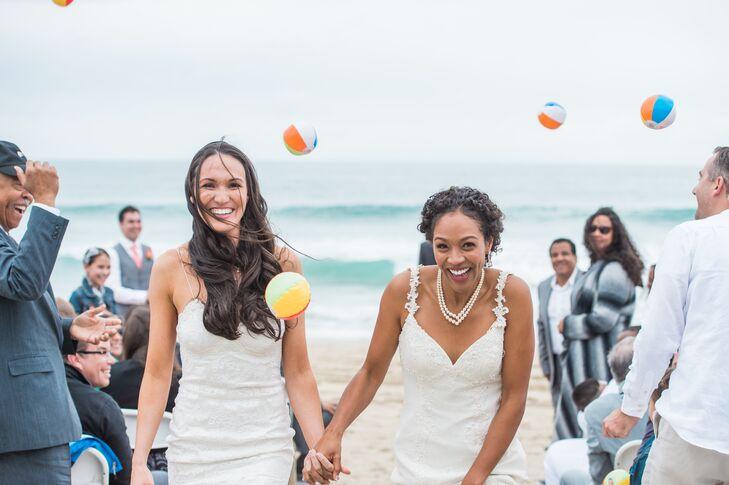A Romantic Casual Beach Wedding At Salt Creek In Dana Point California