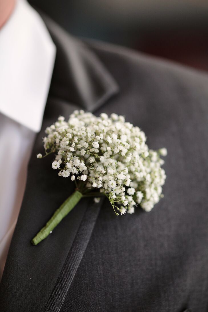 Baby S Breath Boutonnieres