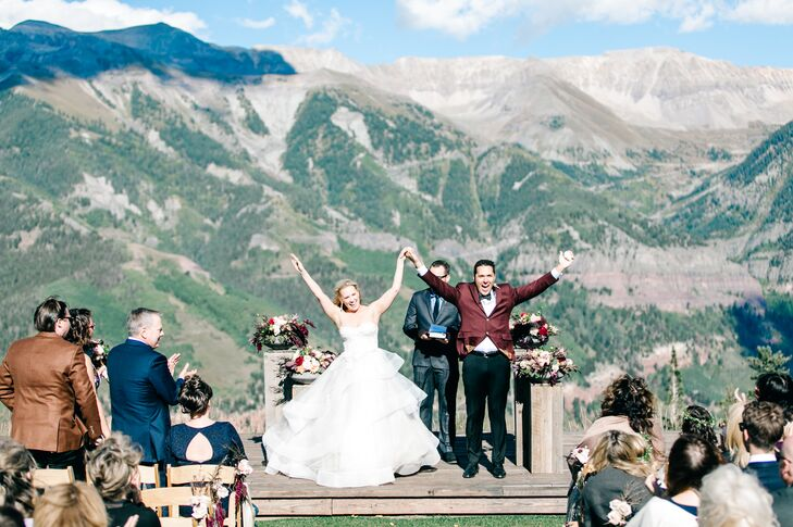 A Mountaintop Wedding At The Telluride Ski Resort In Colorado