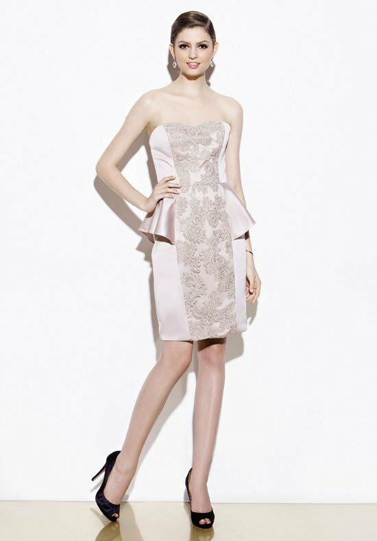 Badgley Mischka BM12S1 Bridesmaid Dress photo