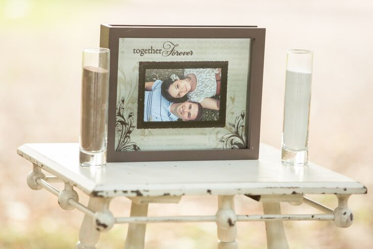 Rustic Unity Sand Ceremony Picture Frame