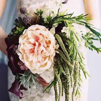 Silk Wedding Flowers | Laura Gordon Photography | Blog.TheKnot.com