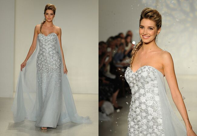 Frozen\' Wedding Dress Debuts at Bridal Fashion Week: See Disney\'s ...