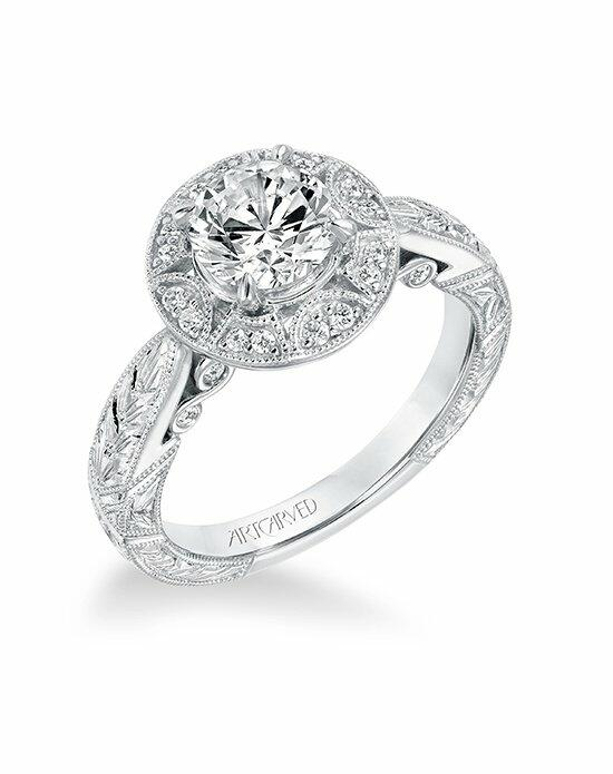 ArtCarved 31-V695ERW-E Engagement Ring photo