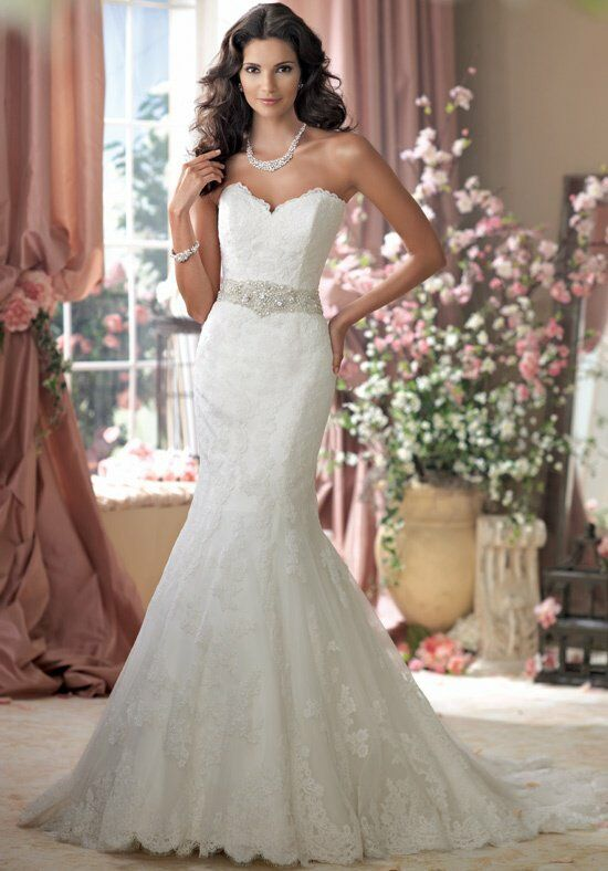 David Tutera for Mon Cheri 114274 Wedding Dress photo