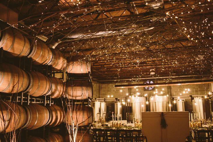 Quantum Leap Winery Diy Branch Lighting Display