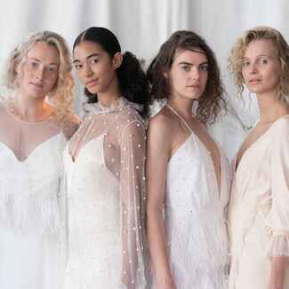 Alexandra Grecco Fall/Winter 2018 wedding dress collection