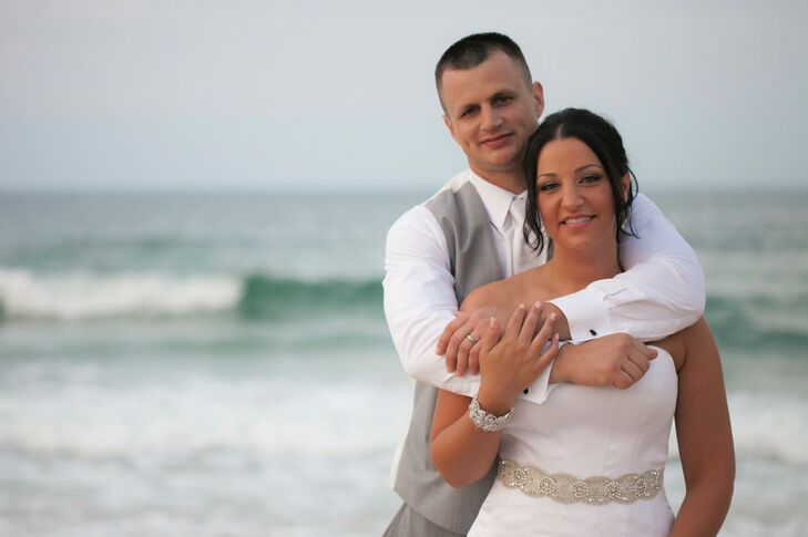A Glamorous Beach Wedding at Jennette\'s Pier in Nags Head, North ...