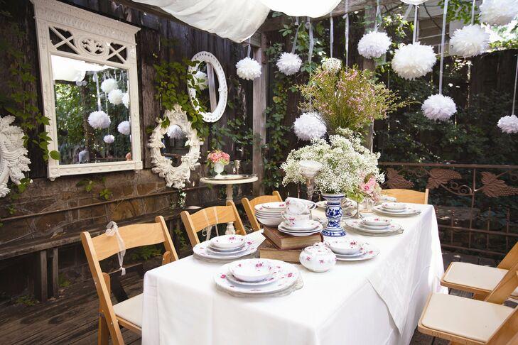 A romantic garden wedding in fayetteville ar for The garden room fayetteville ar