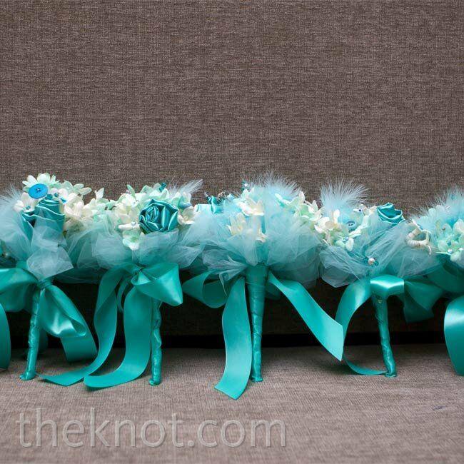 Tiffany Blue Bouquets