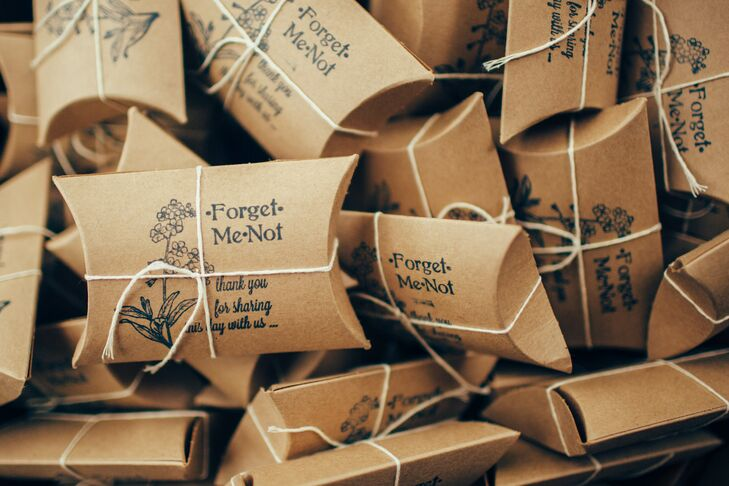 Me To You Wedding Gifts: Forget-Me-Not Flower Seed Wedding Favors