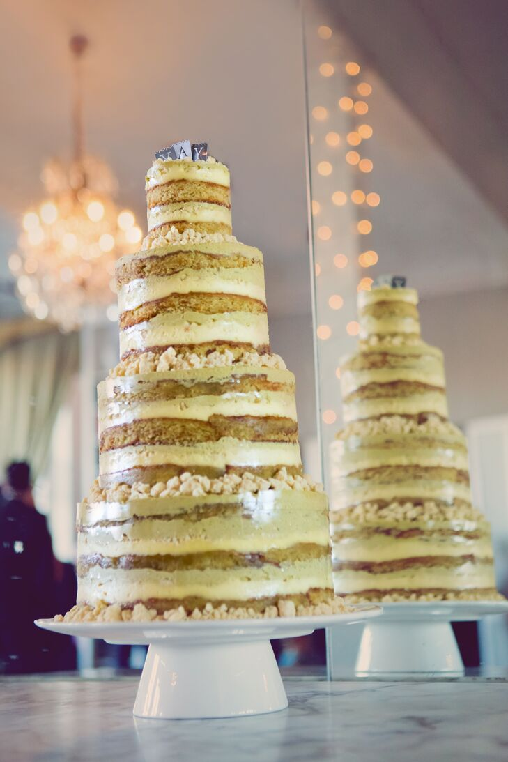 Homemade Naked Wedding Cake
