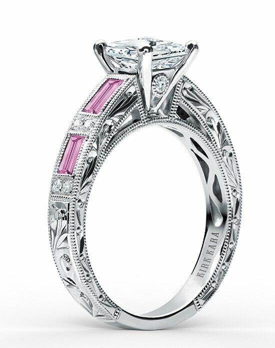 Kirk Kara Charlotte Collection SS6685P-R Engagement Ring photo