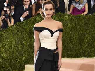 Emma Watson at The Met Gala 2016