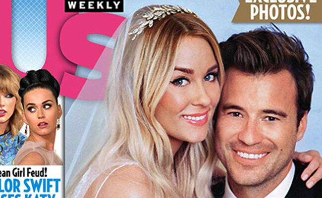 Lauren Conrad And William Tell S First Wedding Photo Click To See