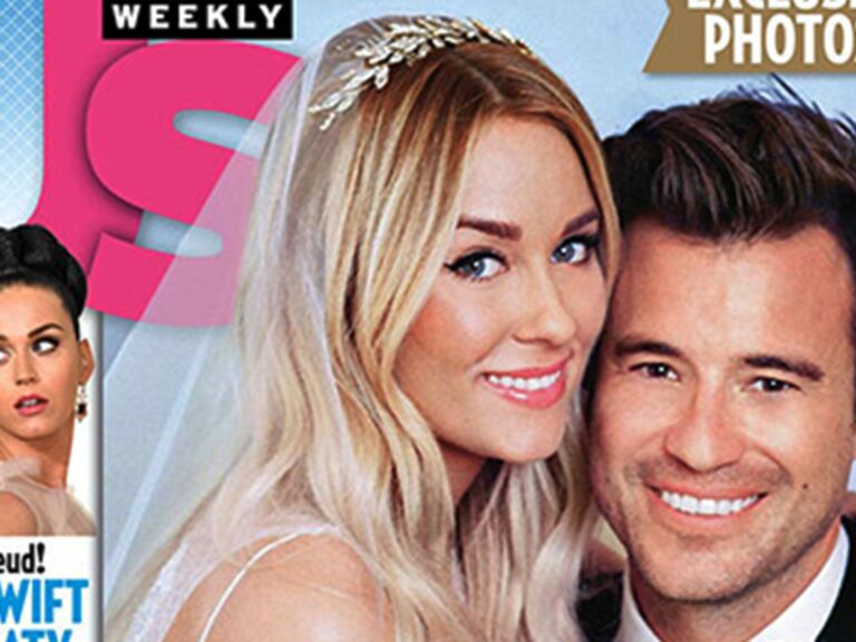 Lauren Conrad wedding photos Us Weekly
