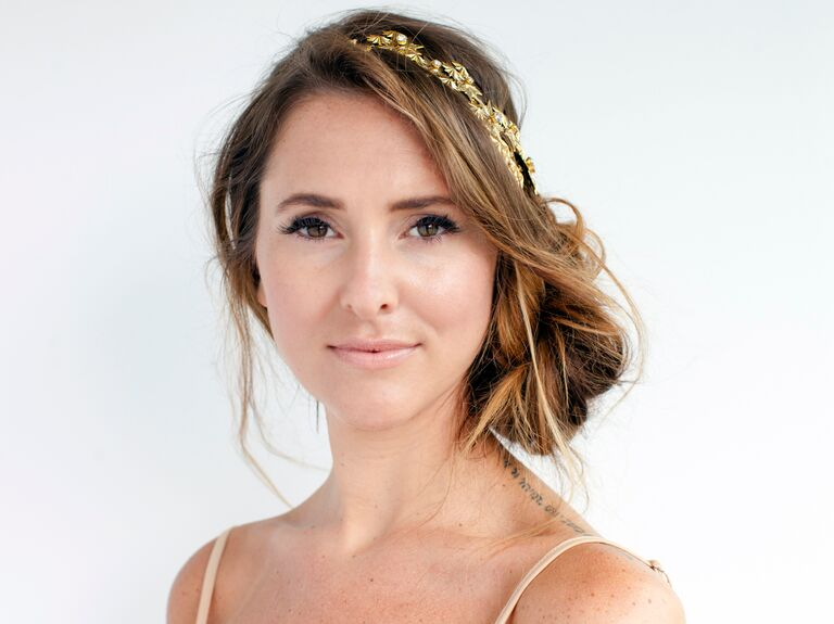 DIY Bridal Updos Perfect For A Bohemian Wedding