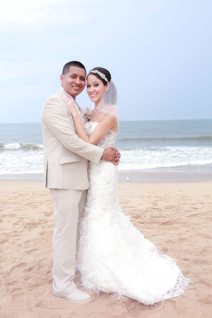 A Beach Themed Wedding At Doolans Shore Club In Spring Lake New Jersey