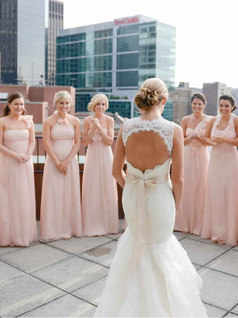 Bridal Party First Looks Guaranteed To Make You Smile