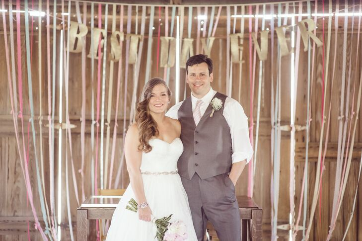 A Rustic, Chic Wedding at the Kelley Agricultural Museum in ...