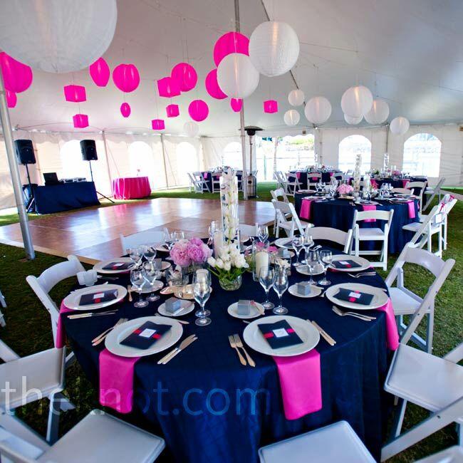 pink and navy decor. Black Bedroom Furniture Sets. Home Design Ideas