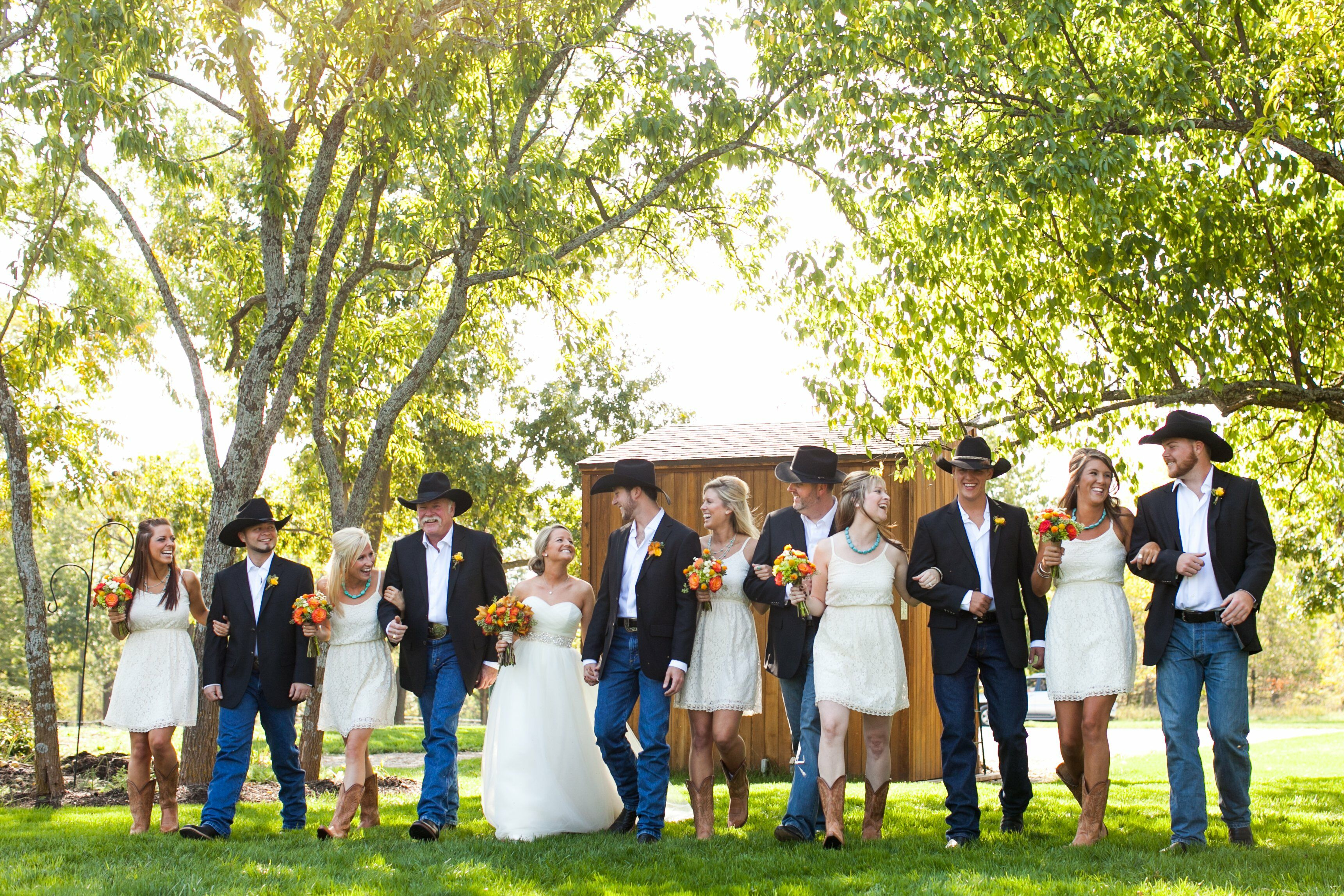 A Country Chic Wedding In Bucyrus KS