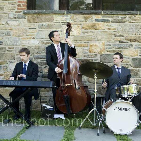 Wedding Jazz Bands: Purple Boutonniere
