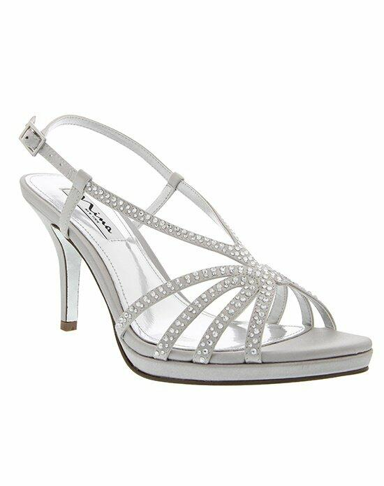 Nina Bridal BOBBIE_SILVER Wedding Shoes photo
