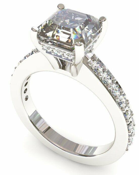 Enchanted Diamonds Surprise Diamonds Pave Set MP5-4W-A Engagement Ring photo